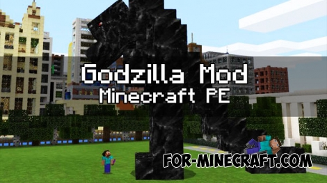 Godzilla mod for Minecraft PE 1.0.0 (0.17.0)