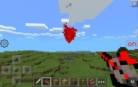 Laser Guns mod r004 for Minecraft PE 1.0.0/1.0.2