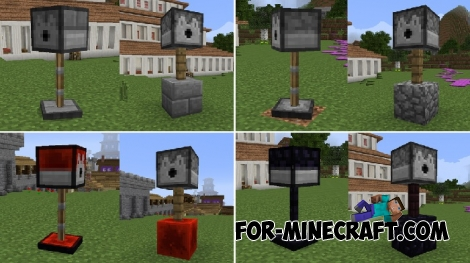 Utility Turrets mod for Minecraft PE 0.17.0/1.0.0/1.0.2