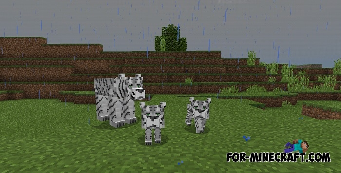 Animals addon v6 for minecraft pe 1 1 0 1 for How to fish in minecraft pe