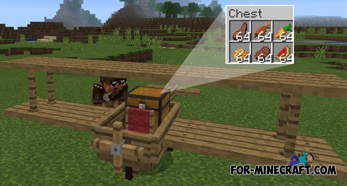 minecraft how to make a plane