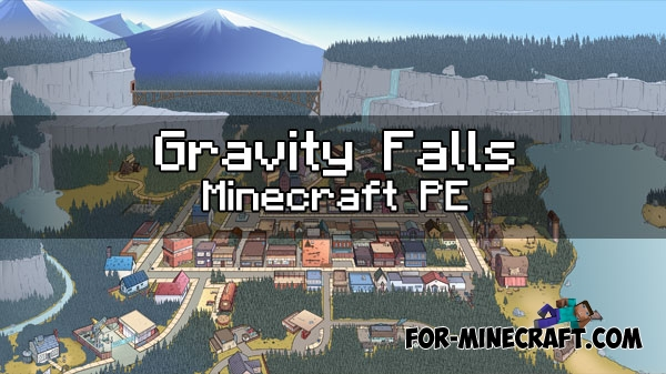 Gravity Falls Minecraft Map - YouTube