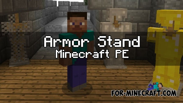 how to craft a armor stand in minecraft