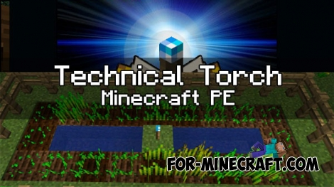 Technical Torch mod [Minecraft PE 1.0.2]