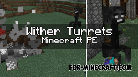 Wither Turrets mod [MCPE 1.0.0/1.0.3]