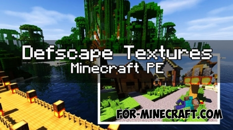 Defscape Textures for MCPE 1.0.0/1.1