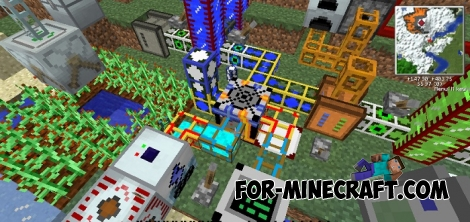 Industrial World - Minecraft PE modpack (31 mods!)