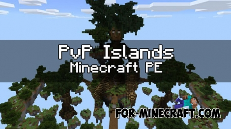 PvP Islands map for Minecraft PE 0.16.0/1.0.4