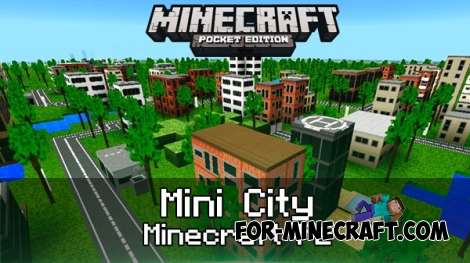 Mini City Texture Pack for MCPE 1.0-1.1