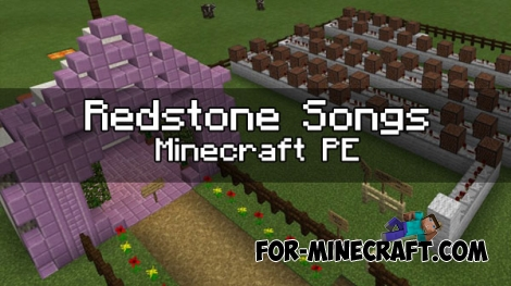 Redstone songs map for Minecraft PE