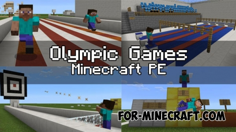 Olympic Games map for MCPE 1.0.0/1.0.4