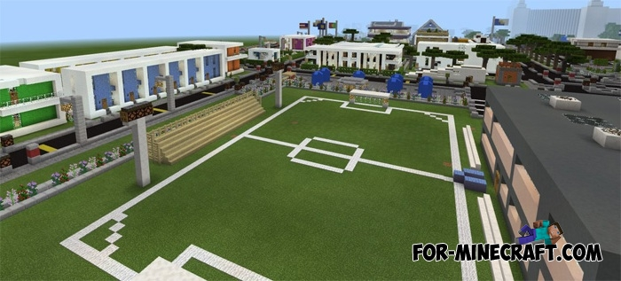 how to make a city in minecraft pe
