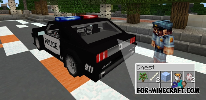 Minecraft How To Build A Police Car