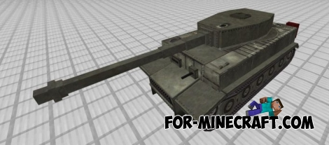 Tanks mod v2 for Minecraft PE 1.0.0/1.0.4.1