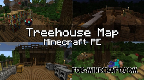 Treehouse map (Minecraft Pocket Edition)