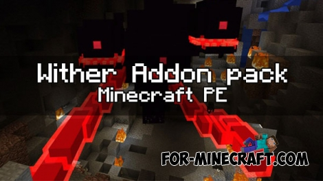 Wither Addon pack for Minecraft PE 1.0