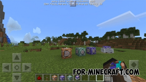 Minecraft PE 1.0.5 - Command blocks!