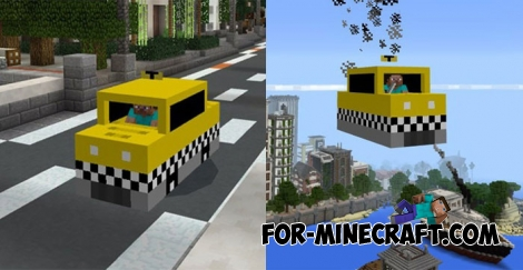 Mine-Taxi Addon for MCPE 1.0.5