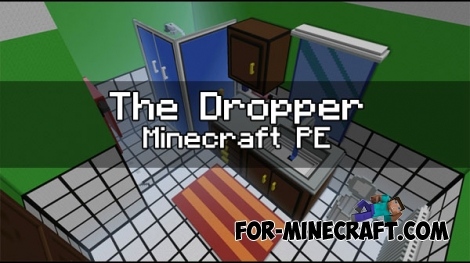 The Dropper map (Minecraft PE 1.0.5)