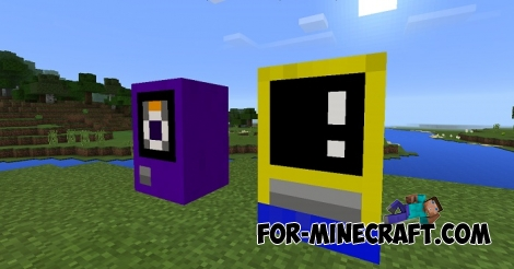 Mine-Machine addon (Minecraft Pocket Edition 1.0.5)