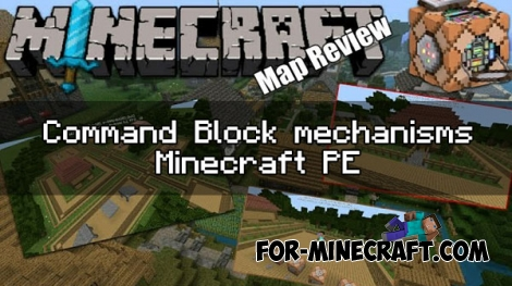 minecraft how to make a command block pe