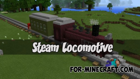 Steam Locomotive for MCPE 1.0.5