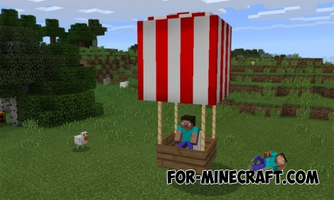 Air Balloon addon MCPE 1.0.6