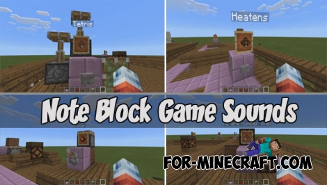 Note Block Game Sounds map (PE 1.0.5+)