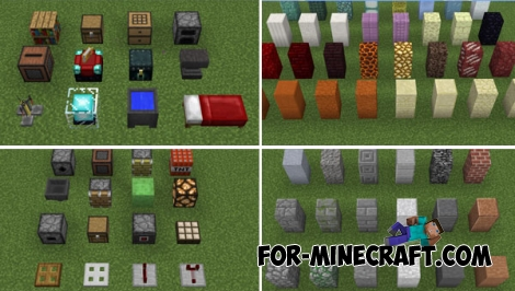 Default Style Advanced textures (MCPE 1.1)