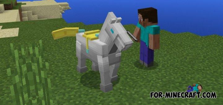 Iron horse addon mcpe 1 1 0 1 for Decoration mod mcpe 0 14 0