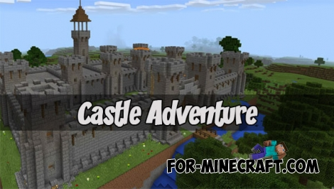Castle Adventure map (Minecraft PE 1.1.0)