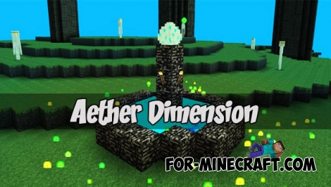 Aether Dimension (MCPE 1.0.0-1.1.0)