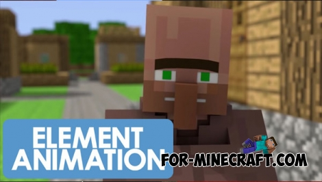 The Element Animation Villager Sounds (MCPE 1.0.5+)