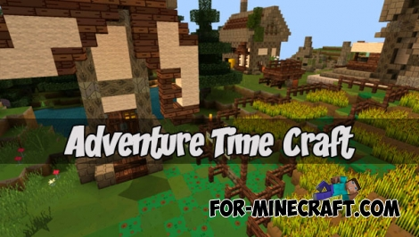 Adventure Time Craft Textures (MCPE 1.0/1.1)