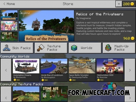 How to sell your content in Minecraft PE