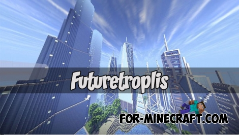 Futuretroplis map (Minecraft PE 1.1.1)