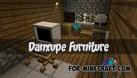 Danxupe Furniture mod (Minecraft PE 1.2)