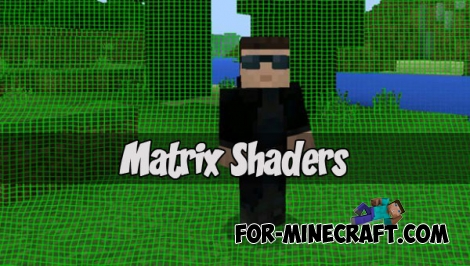 Matrix Shader pack (Minecraft Pocket Edition)