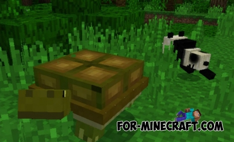 Animals addon v6 for Minecraft PE 1.1.0/1.2.10