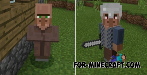 Village Guards addon (MCPE 1.1)