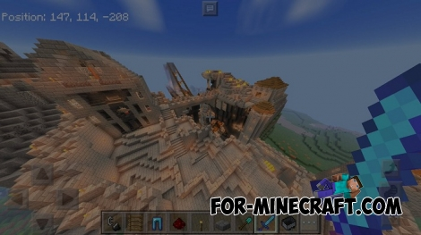 Round World Shader pack (MCPE 1.1.0.X)