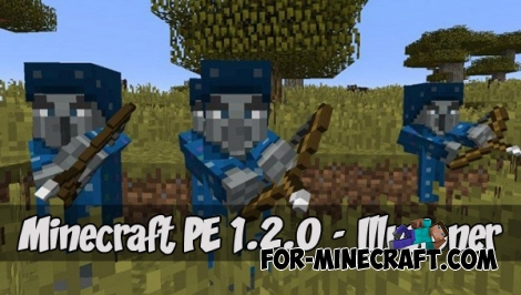 Minecraft PE 1.2.0 - Illusioner!