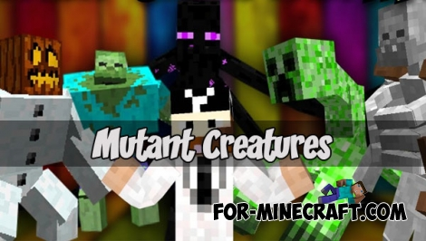 Mutant Creatures for Minecraft PE 1.1