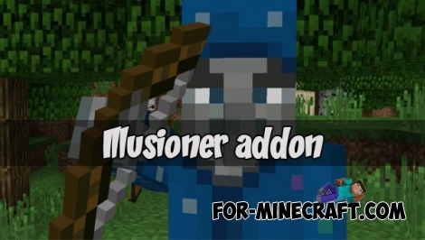 Illusioner addon (Minecraft PE 1.1.0.8)