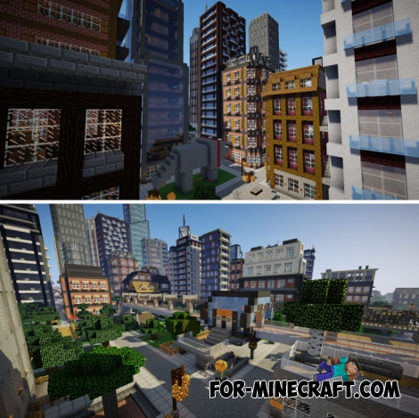 City of Newisle for MCPE 1.1.0.+
