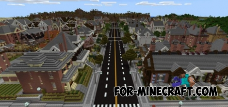 The Neighborhood map (MCPE 1.1+)