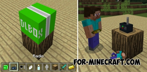 Furniture addon v5 - Baby Edition (Minecraft PE 1.2)