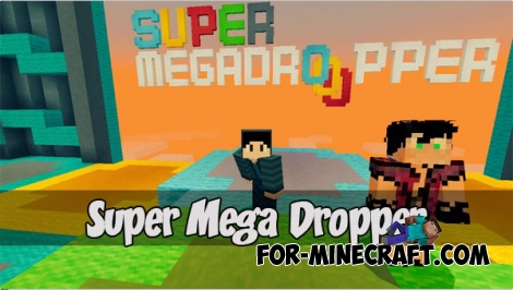 Super Mega Dropper map (MCPE 1.1)