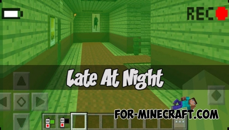 Late At Night map (MCPE 1.1.0.9+)