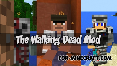 The Walking Dead mod (Minecraft PE 1.1+)